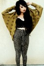 Leopard-forever-21-pants