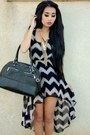 Zig-zag-forever-21-dress