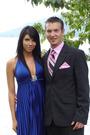 Pink-vest-black-suit-blue-dress-pink-tie