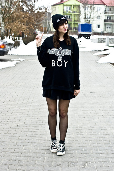 boy Sheinside sweatshirt
