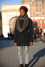 Navy-peacoat-buffalo-coat-gray-circle-mossimo-scarf