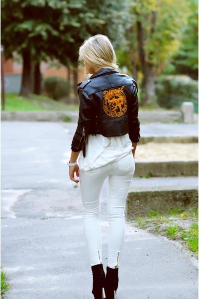ivory Zara pants