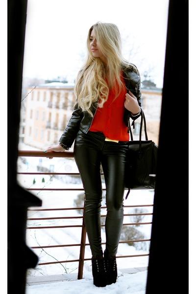 red sammydress blouse