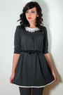 Gray-postlapsaria-dress-gray-gap-tights-black-seychelles-blimeys-belt-blac