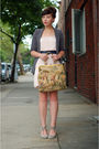 Pink-h-m-dress-silver-jeffrey-campbell-shoes-silver-h-m-blazer-beige-vinta