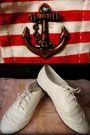 Red-diy-shorts-white-bayo-shoes-white-esprit-shirt
