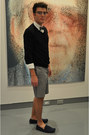 21-men-sweater-bcbg-attitude-shirt-club-monaco-shorts-zara-loafers