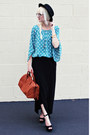 Anthropologie-top-h-m-bag-jeffrey-campbell-heels-jcrew-skirt
