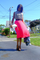 Hot Pleated Pink