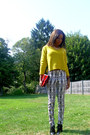 Cap-toe-bootie-zara-boots-h-m-sweater-vintage-bag-ethnic-print-h-m-pants