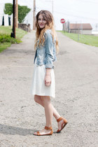 jean jacket - Old Navy sandals