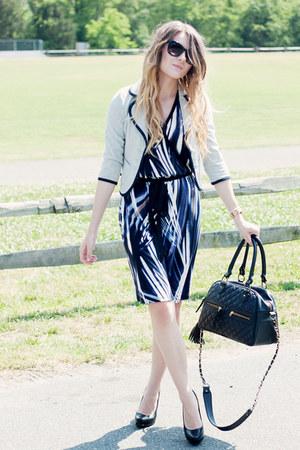 Karen Kane dress - Urban Outfitters blazer - theIT bag - Michael pumps