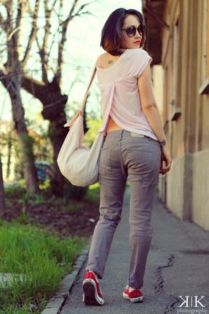 Terranova purse - firmoo sunglasses - Terranova pants - Converse sneakers