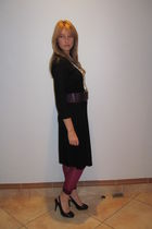 Kelso dress - Edgars belt - cameo leggings - Mr Price shoes