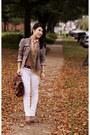 White-delias-jeans-silver-military-peplum-loft-jacket