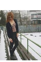 corset Bershka top