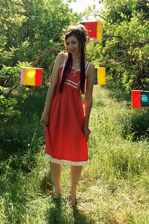 red De Veras dress
