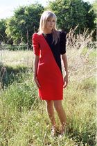 red Especially Yours NYC dress