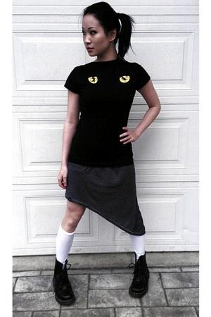 boots - nima SITKA dress - t-shirt