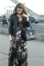 Black-karen-millen-shoes-black-karen-millen-dress-black-karen-millen-jacket
