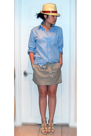 Gap shirt - Jacob skirt - H&M shoes - zellers hat
