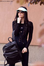 Stradivarius-hat-stradivarius-bag-ray-ban-sunglasses-h-m-romper