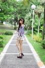 White-clothes-for-the-goddess-shorts-dark-brown-akira-sunglasses