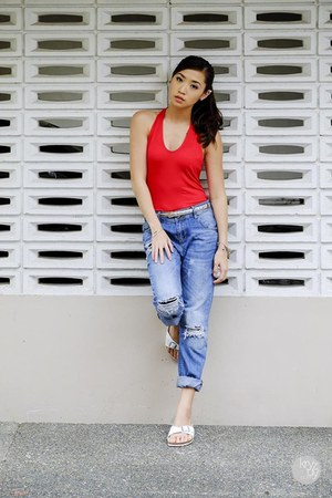 red OMGFashion top