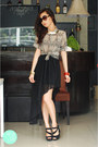Black-clothes-for-the-goddess-skirt-black-sugarfree-heels-gold-wagw-necklace
