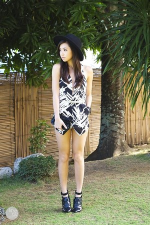 white Esther romper