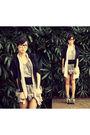 Black-wagw-top-gray-wagw-vest-silver-wagw-top-silver-wagw-skirt-white-su