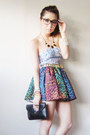 Black-mauve-bag-black-candies-skirt-sky-blue-binky-pitogo-top