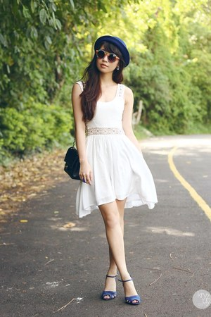 white Esther dress
