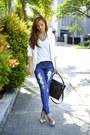 Blue-guess-jeans