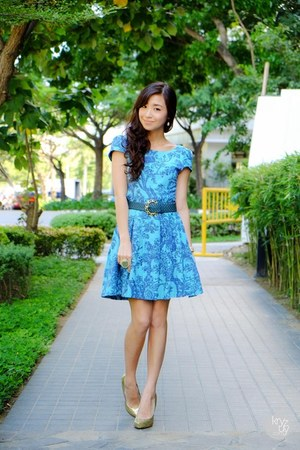 sky blue Kristines Collection dress