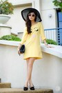 Light-yellow-wagw-dress-black-primaluxe-manila-flats