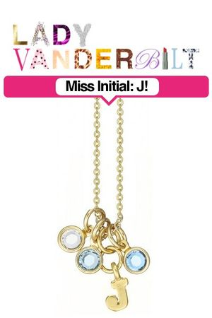 blue LADY VANDERBILT necklace