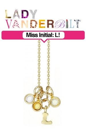 gold LADY VANDERBILT necklace