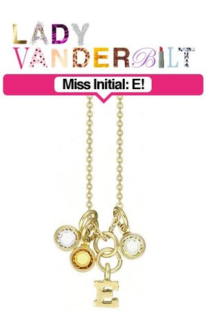 gold LADY VANDERBILT necklace