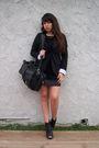 Black-delias-blazer-black-rue-21-shoes-black-f21-dress-black-bag