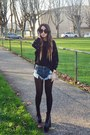 Black-hellbound-unif-shoes-black-oasap-sweater-blue-one-teaspoon-shorts