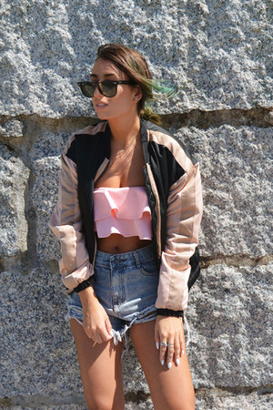 pink ivy supply top