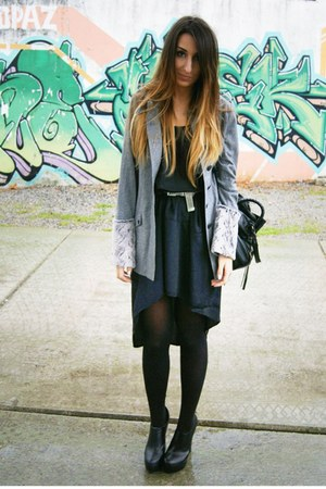 charcoal gray Sugarlips coat