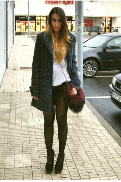 crimson Zara bag - black Fox House boots - black One Teaspoon shorts