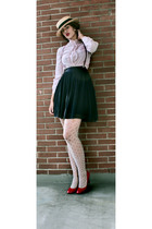 blouse - skirt - shoes - tights - hat