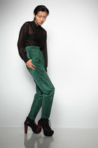 suede Pia Rucci pants