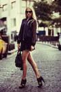 Black-leather-balenciaga-bag-navy-h-m-jacket-black-prada-glasses