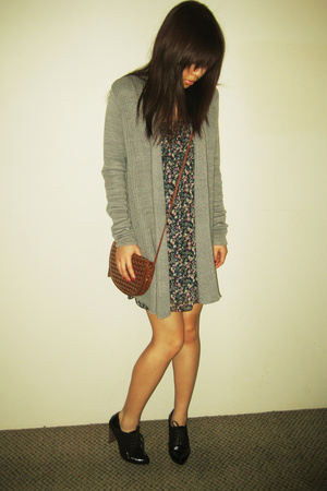 CottonOn sweater - Miusa dress - Sportsgirl purse - unknown shoes