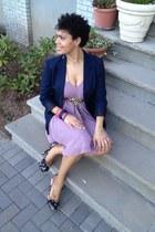 chiffon American Rag dress - floral print Charlotte Russe shoes