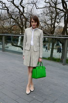 Michael Michael Kors bag - Reiss jacket - Gap shirt - Reiss skirt